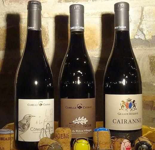 RHONE WEINE - Weinpaket mit 3 Flaschen