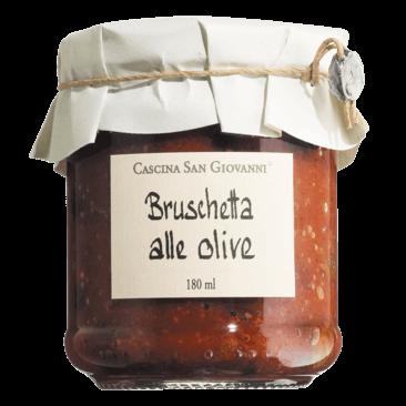 Bruschetta alle Olive - Tomatenaufstrich mit Oliven