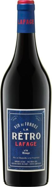 2019er LA RÉTRO Rouge Vin de France