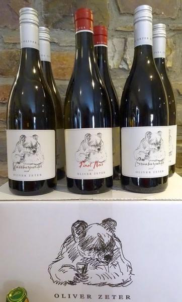 ZETER - 3 Weine - 6 Flaschen zum Sonderpreis Frei Haus