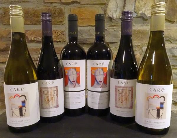CARE - Bodega Anadas - 3 Weine 6 Flaschen Frei Haus