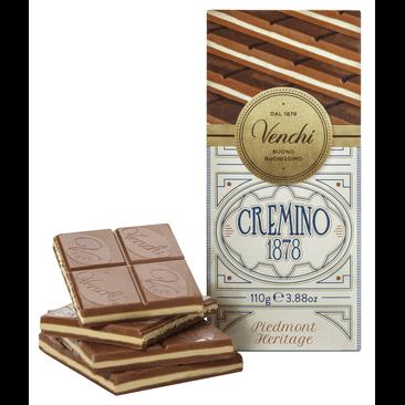 Cremino 1878 Bar - Milch-Gianduiaschokolade mit Mandelpaste 110g