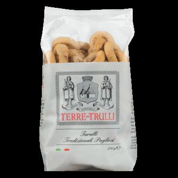 Taralli Tradizionale Pugliesi - Salzgebäck mit nativem Olivenöl extra 250g