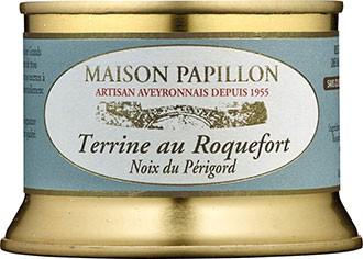 Terrine von Roquefort-Käse und Perigord Walnüssen