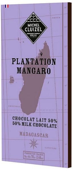 Plantation Mangaro Chocolat Lait mit einem Kakaoanteil von 50%