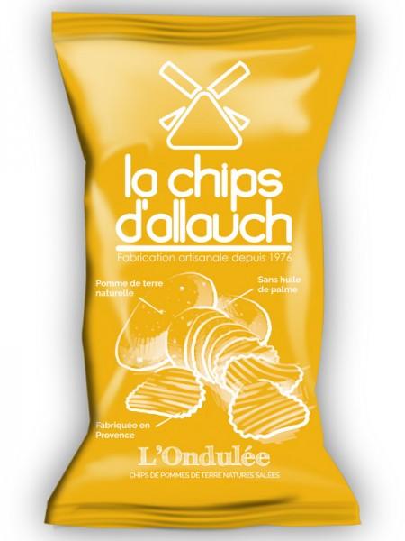 Gewellte Chips aus der Provence 125g