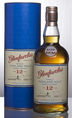 Glenfarclas Highland Single Malt Scotch Whisky 12 Jahre alt
