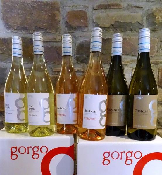 GORGO - 3 Weine vom Gardasee zum Sonderpreis Frei Haus