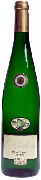 2015/16er Merler Fettgarten Riesling Spätlese Goldkapsel fruchtsüss