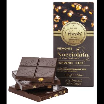 Zartbitterschokolade mit ganzen Haselnüssen 100g