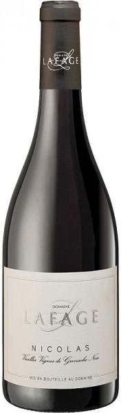 2018er Cuvée Nicolas Vieilles Vignes de Grenache Noir IGP