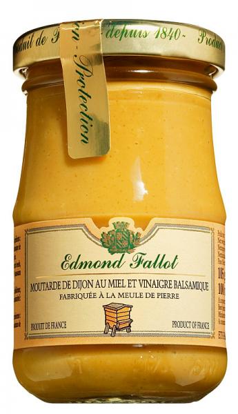 Moutarde de Dijon mit Honig und Balsamico 105g