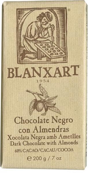 Chocolate Negro con Almendras 200g