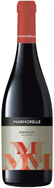 2020er Marmorelle Primitivo IGT Salento Rosso