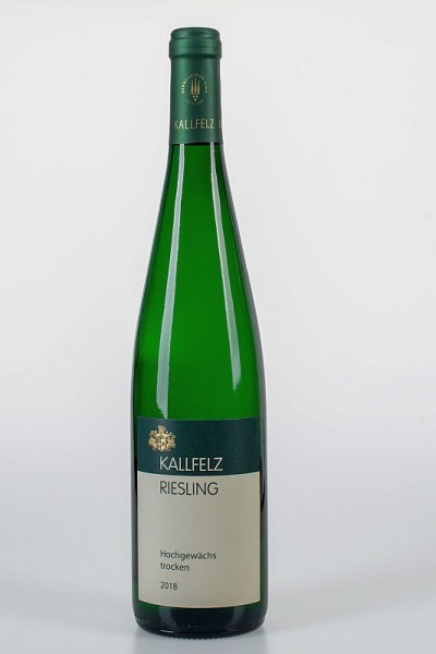 2018er Kallfelz Riesling Hochgewächs trocken