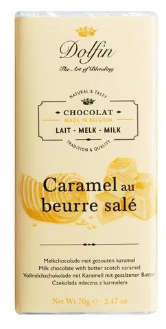 Vollmilchschokolade mit Karamell und gesalzener Butter