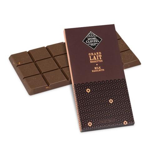 Grand Lait aux Noisettes Milchschokolade mit Nüssen Kakaoanteil 45%