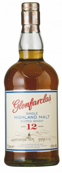 Glenfarclas Highland Single Malt Scotch Whisky 12 Jahre alt