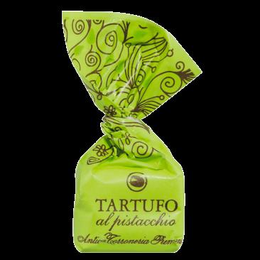 Tartufi dolci al pistacchio - Schokoladentrüffel mit Pistazien