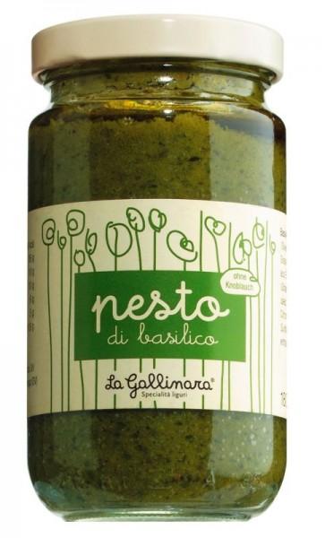 Pesto di Basilico senza aglio (ohne Knoblauch) 180g