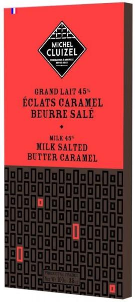 Vollmilchkaramell mit gesalzener Butter Kakaoanteil 45%