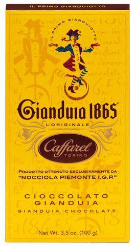 Cioccolato Gianduia - Vollmilchschokolade mit Gianduia 100g