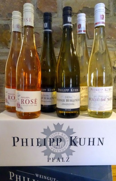 PHILIPP KUHN - 3 Weine - 6 Flaschen zum Sonderpreis Frei Haus