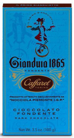 Cioccolato fondente - Zartbitterschokolade mit Gianduia 100g
