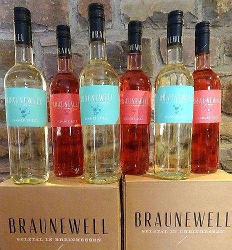BRAUNEWELL - 2 Weine - 6 Flaschen zum Sonderpreis Frei Haus